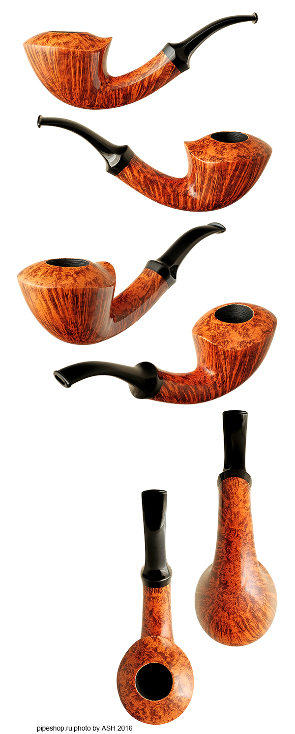 Курительная трубка BENNI JORGENSEN SMOOTH QUARTER BENT DUBLIN
