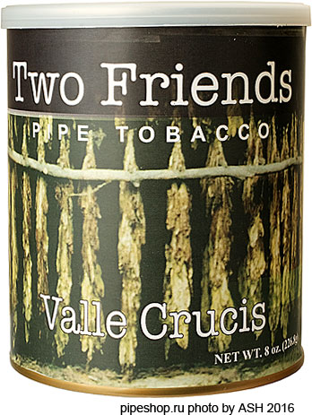 Трубочный табак TWO FRIENDS VALLE CRUCIS, банка 227 г.