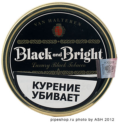 "Трубочный табак Van Halteren ""Black & Bright"" 100 g tin"