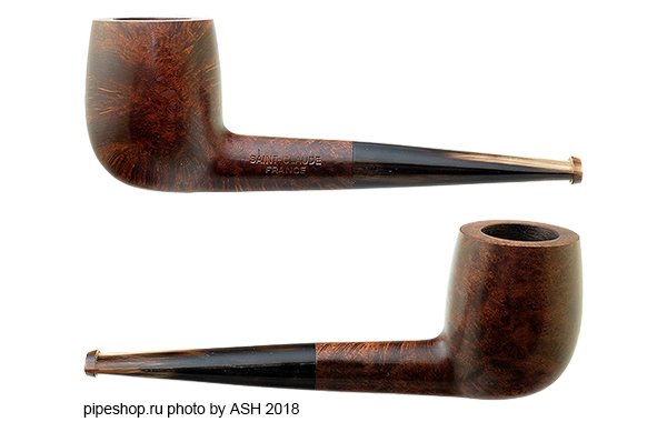 Курительная трубка SAINT-CLAUDE SMOOTH BILLIARD HORN STEM