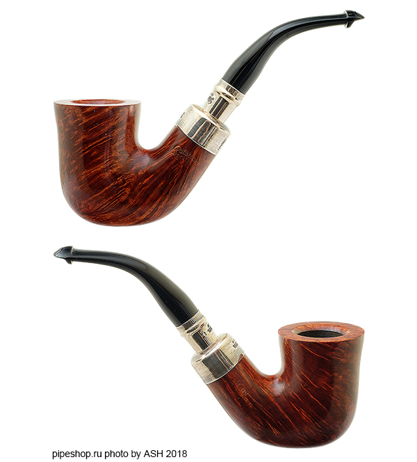 Курительная трубка PETERSON SYSTEM SMOOTH STERLING SILVER SPIGOT XL315 P/Lip