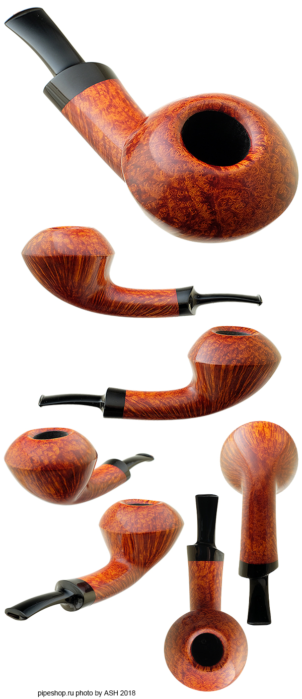 Курительная трубка FORMER SMOOTH SLIGHTLY BENT CALABASH