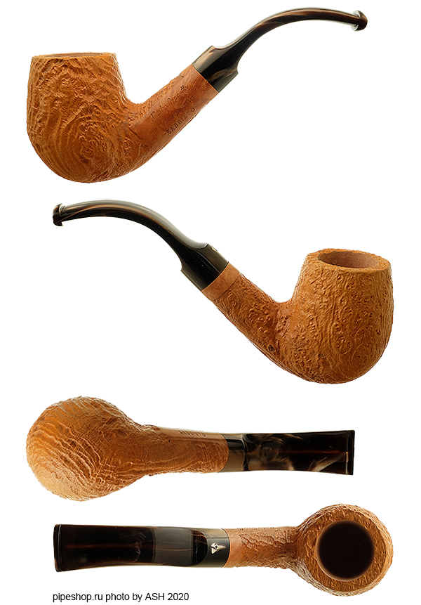 Курительная трубка MASTRO GEPPETTO NATURALE SABBIATO BENT BILLIARD