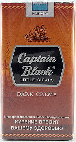 Сигариллы CAPTAIN BLACK DARK CREMA LITTLE CIGARS 20 шт. - Описание ...