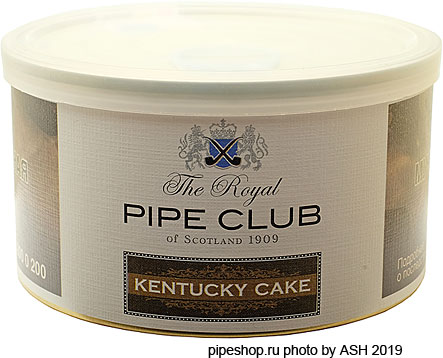 Трубочный табак THE ROYAL PIPE CLUB KENTUCKY CAKE, банка 50 г.